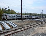 NJT 1355 bring up the rear on shop move from Morrisville